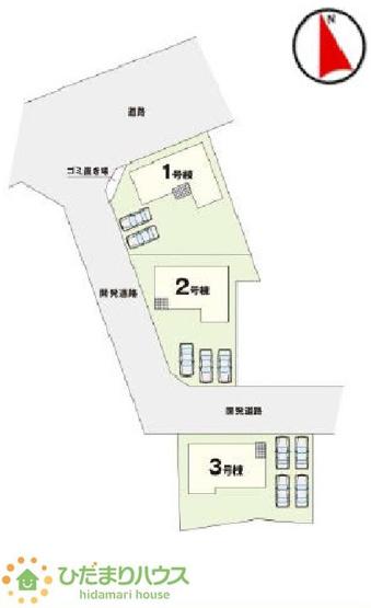 駐車4台可能!広々としたお庭も付いてます☆