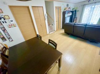 【居間・リビング】草加市柳島町売り戸建て