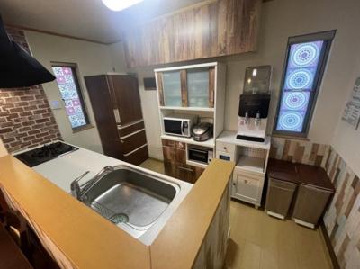 【キッチン】草加市柳島町売り戸建て