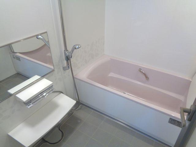 【浴室】ライオンズマンション川越岸町(1階部分)