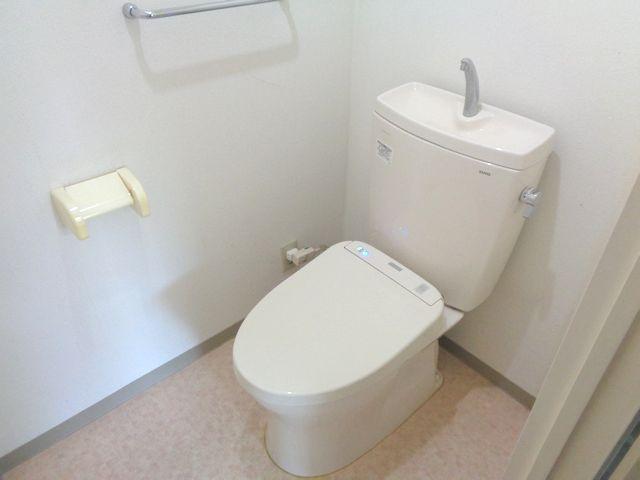【トイレ】ライオンズマンション川越岸町(1階部分)