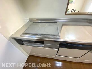 キッチンコンロはIHコンロです!安心・安全生活です♪