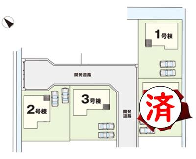 【区画図】ケイアイリッカ稲敷郡阿見町31期