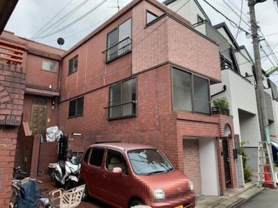 隣住戸と隣接している箇所が少ない独立性の高いテラスハウスです(2021.9.25撮影)。