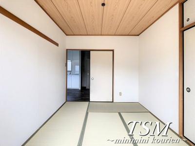 落ち着く空間の和室