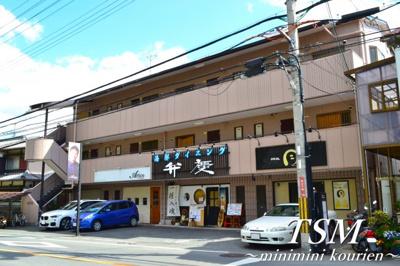 近くの中学校(枚方市立第四中学校)
