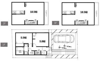 4LDK、建物面積91.94m2、建物価格2000万円