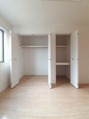 ちょっとした収納スペースも充実しています