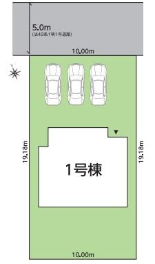 【区画図】グラファーレ錦町町西 全1棟