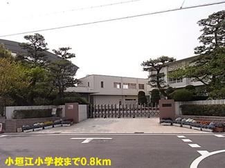 小垣江小学校まで800m