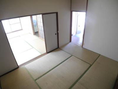 【寝室】橋口アパートB