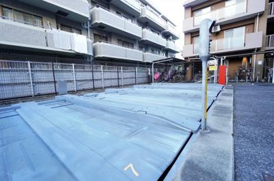 【駐車場】レクセルマンション武蔵浦和