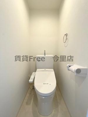 【トイレ】クレスト新今里 仲介手数料無料