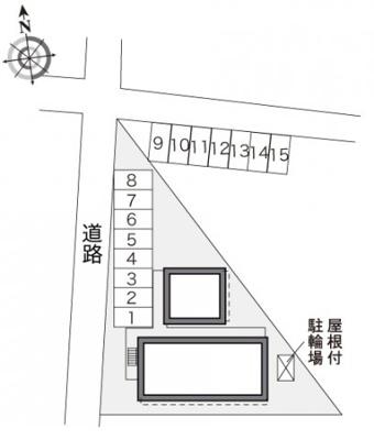 【区画図】レオパレス昴Ⅱ