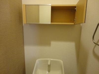 トイレ戸棚