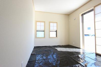 趣のある和室です:建物完成しました♪♪毎週末オープンハウス開催♪三郷新築ナビで検索♪