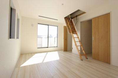 広々とした洋室です:建物完成しました♪♪毎週末オープンハウス開催♪三郷新築ナビで検索♪