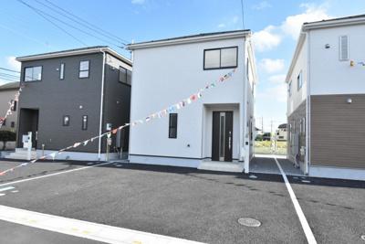 【外観】鴻巣市原馬室 新築一戸建て全7棟