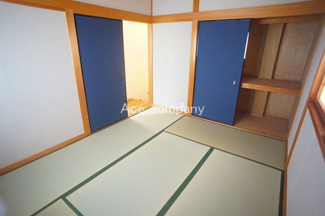 【3階:和室6帖】収納完備☆