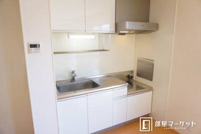 【キッチン】クレセント A棟