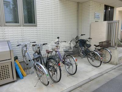 駐輪スペース・シャトーMatsuda