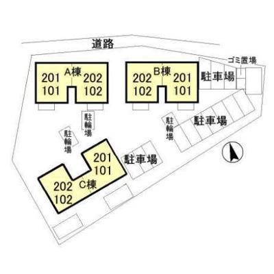 【区画図】クレストパーク B