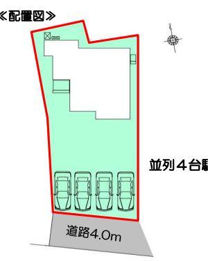 【区画図】浜松市西区篠原町 3期 新築一戸建て FF