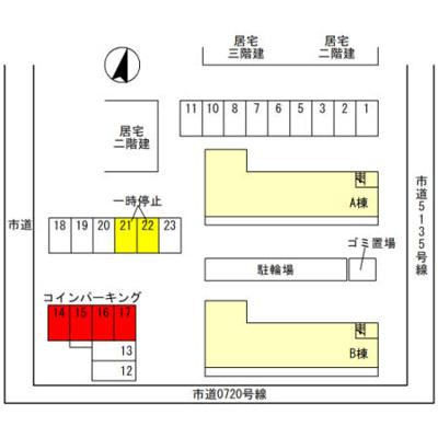 【区画図】ラ カンパネラ B