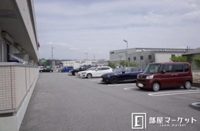 【駐車場】リバーハイツさらさ