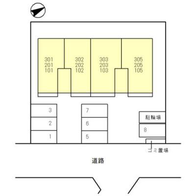 【区画図】エーデルハイムⅢ