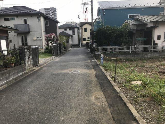 【前面道路含む現地写真】厚木市寿町売地