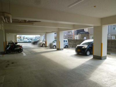 【駐車場】京都山科スカイマンション