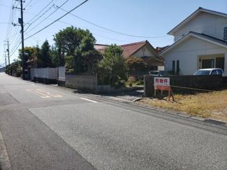 【前面道路含む現地写真】鳥取市叶土地