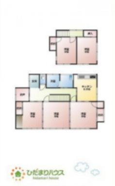全居室6帖以上で居室の住空間もスッキリ広々使えます♪