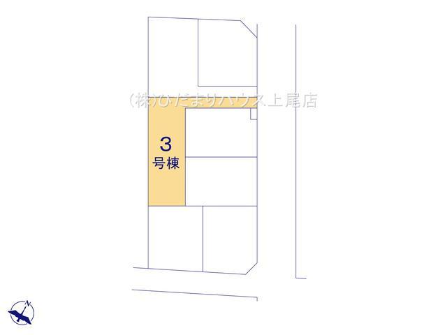 【区画図】上尾市栄町 新築一戸建て リーブルガーデン 03