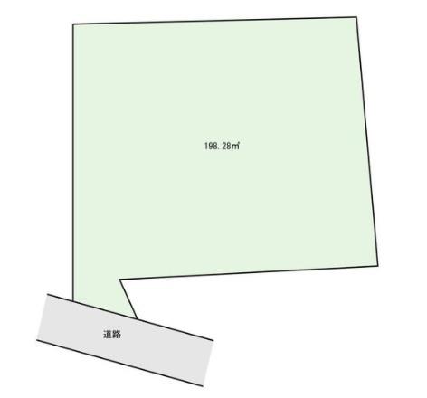 【土地図】土地・ 峰沢町・ブルーライン「三ッ沢上町」駅 徒歩5分