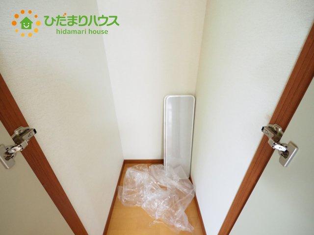 ちょっとした収納スペースがあることで、 お部屋が散らからなくて、いつまでもきれいなお家でお過ごしください(^^♪