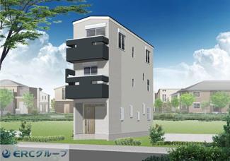 【完成予想図】東灘区御影塚町3丁目新築戸建て