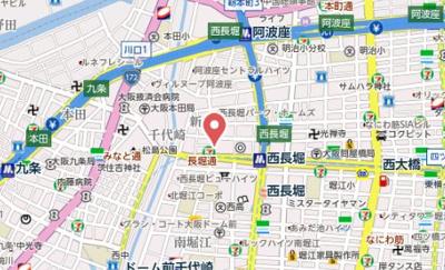 【地図】セルン新町