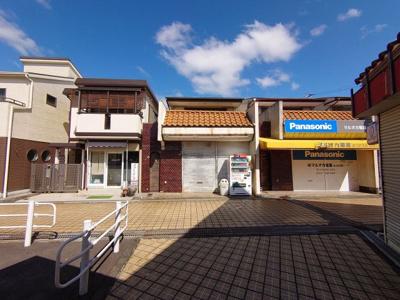 【外観】松が枝町2丁目 店舗併用住宅