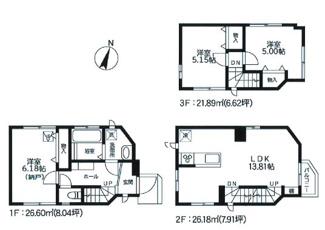 2号棟:設備・仕様充実、2階LDKは開放的なワンフロアタイプ