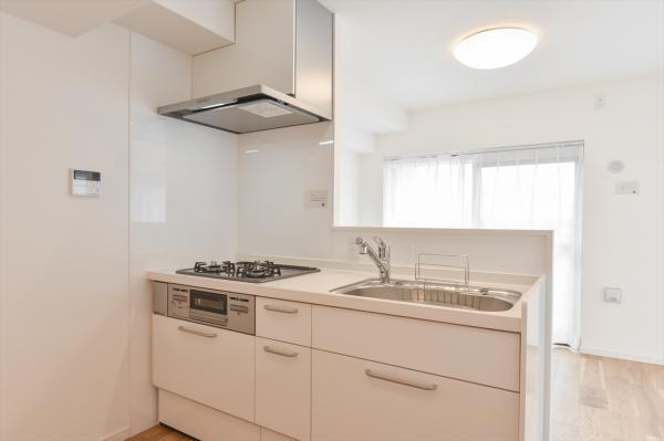 浄水器付きシステムキッチン 新規交換です