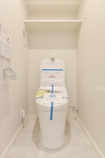洗浄便座付きトイレも新規交換につき快適にお使いいただけます