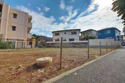 【前面道路含む現地写真】小田急線「鶴川」駅 条件付売地