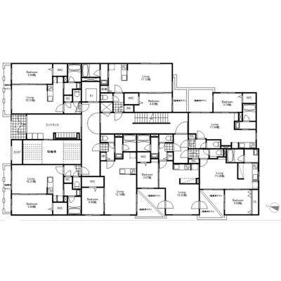 【区画図】berlinetta45