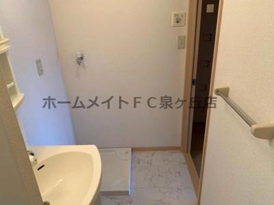 【洗面所】グランミールA棟