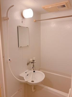 【浴室】レオパレス堤MN Ⅰ