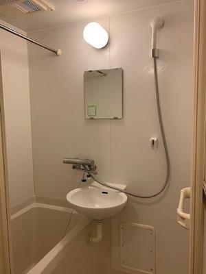 【浴室】レオパレス昴