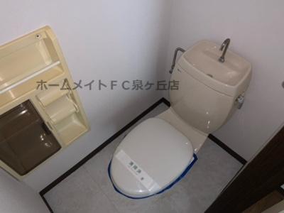 【トイレ】ラ・フォーレ深井E棟