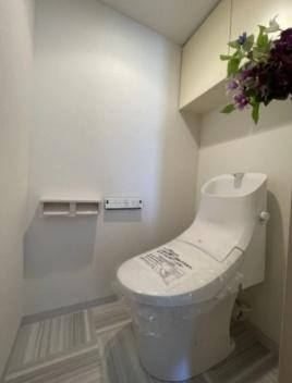 シティウイングお花茶屋のトイレです。